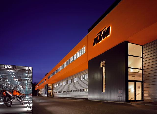 Mattighofen Austria Ktm Factory