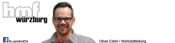 Oliver Esterl - Leitung Werkstatt/Serviceteam hmf