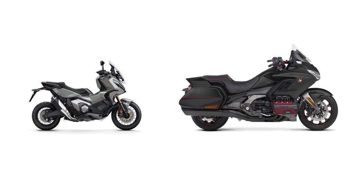 Motorrad Vergleich Honda X-ADV 2021 vs. Honda GL 1800 ...