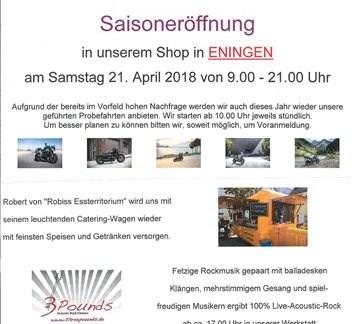 Saisoneröffnung 2018