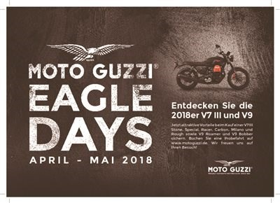 MOTO GUZZI EAGLE DAYS bis 31.05.18