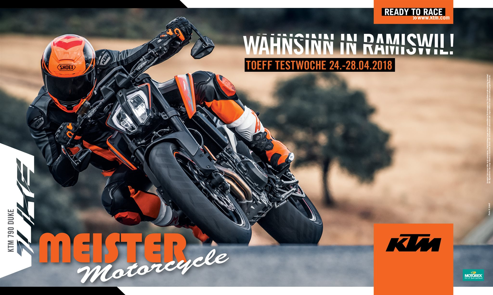 Meister Motorcycle AG-News: Wahnsinn in Ramiswil