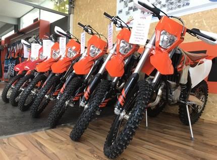 KTM Aktion Offroad  Nutze Deine Chance und hole Dir eine der letzten lagernden KTM Offroad Modelljahr 2018 Neufahrzeu... Weiter >>