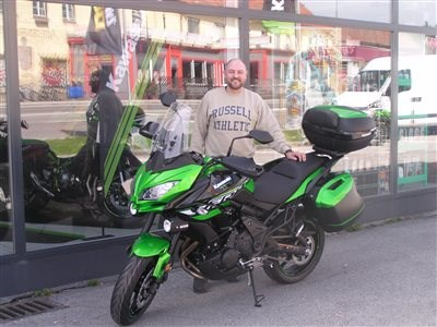 Kawasaki Verseys roll out !