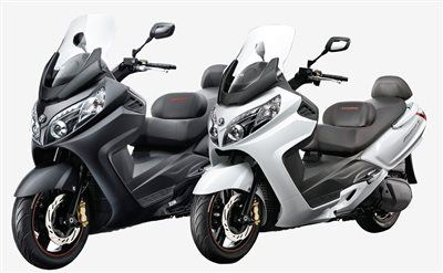 Ginzinger GmbH - Filiale Traun-News: Scooteraktion SYM Maxsym 600i ABS in Aktion