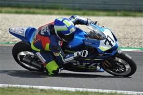 Zweimal Platz 5 für Thomas Berghammer in der IOEM Superbike