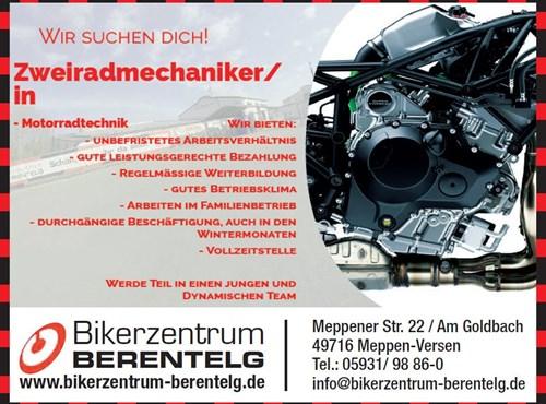 NEWS Zweiradmechaniker/in gesucht