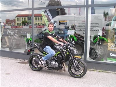 Kawasaki Z 900 findet eine neue Heimat!