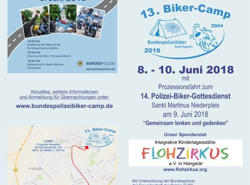 Tourentipp: Biker-Camp 2018 der Bundespolizei in Sankt Augustin