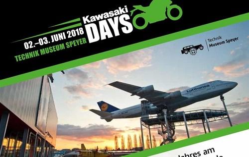 Kawasaki Days 2018 am 2.-3. Juni in Speyer