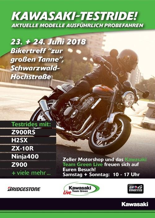 NEWS ZELLER MOTORSHOP Testride-Aktion