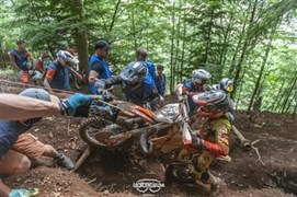 "Detailansicht Erzberg Rodeo XX4 2018 ""IN DUST WE TRUST"" - Das Team KTM Walzer am IRON GIANT in der Steiermark"