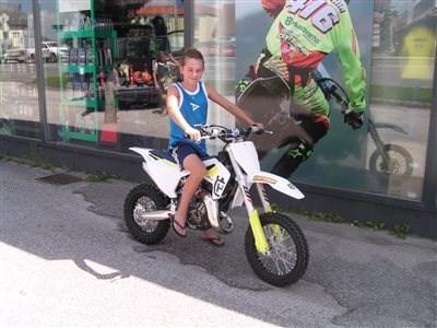 Devin  und sein neues Bike!