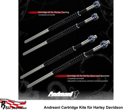 MB Bike Performance GmbH-News: Harley Davidson: Andreani Cartridge Kits verfügbar!