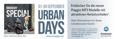 MP 3 Urban Days