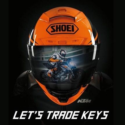 """""""Lets Trade Keys Promotion""""  Entscheide dich jetzt für eine KTM 1290 SUPER DUKE R oder KTM1290 SUPERADVENTURES mit bis zu 1.5... Weiter >>"""