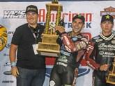Indian gewinnt American Flat Track Meisterschaft