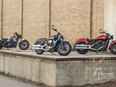 2019 Indian Scout Modellfamilie
