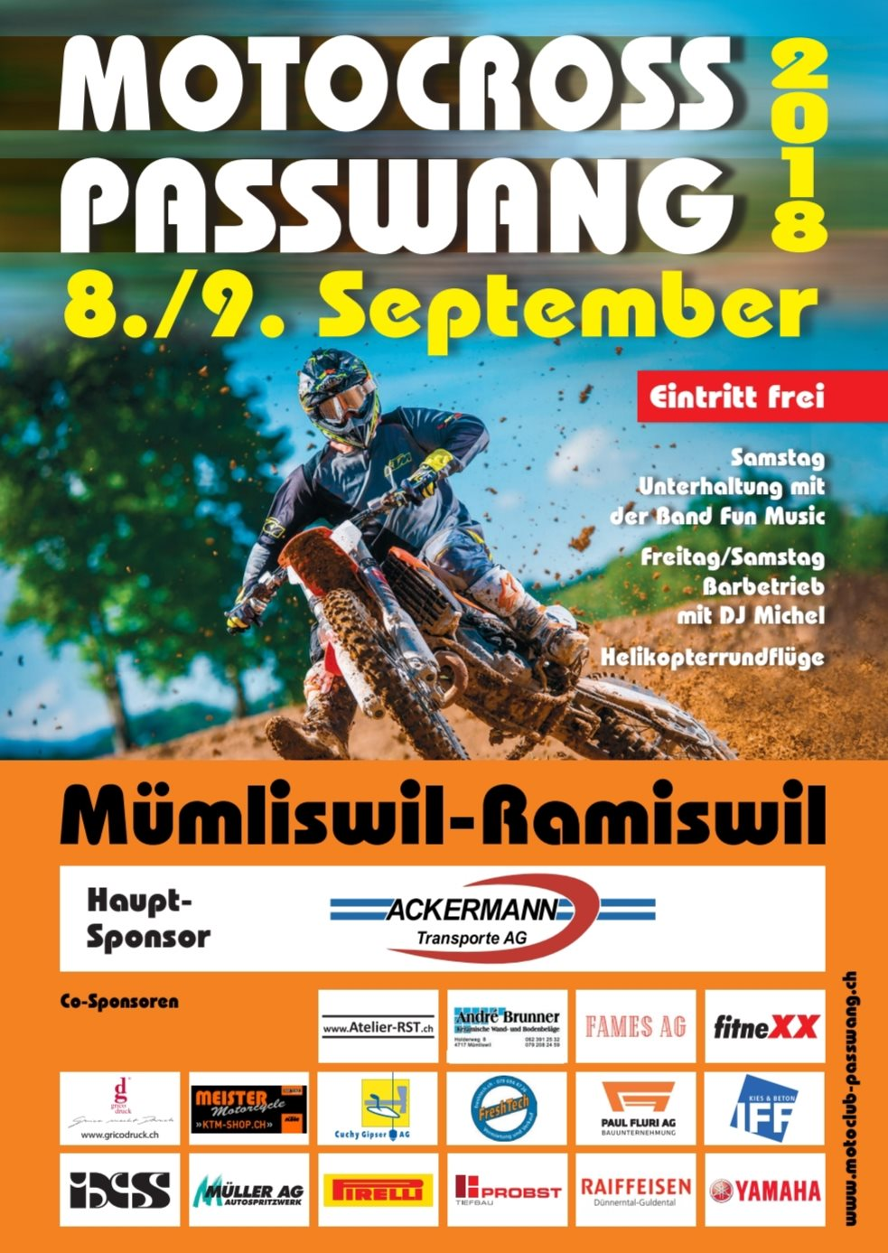 Meister Motorcycle AG-News: Motocross Passwang
