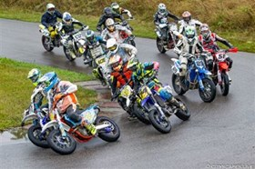 Supermoto- Austria: 3. ÖM-Lauf Bad Fischau NÖ 1. & 2. September 2018