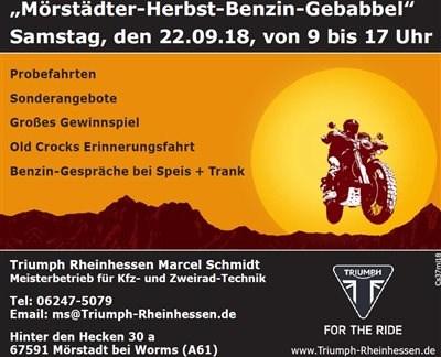 Mörstädter-Herbst-Benzin-Gebabbel