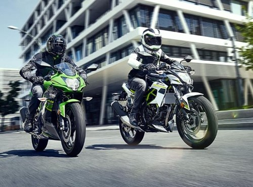 Kawasaki Z125 und Ninja 125
