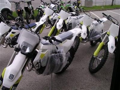 Husqvarna Bikes sind eingetroffen!