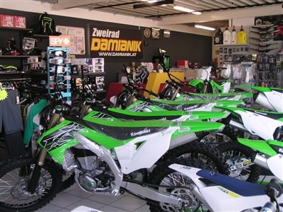 Kawasaki MX Bike on stock!!