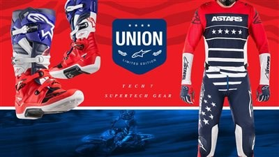 Alpinestars Limited Edition Union18 MXON