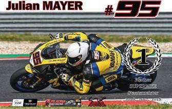 Dritter SBK-Staatsmeistertitel in Folge für Julian Mayer
