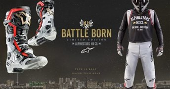 Detailansicht Alpinestars Limited Edition Battle Born