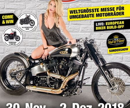 BPR-Bikes e.K.-News: CUSTOMBIKE-SHOW 2018