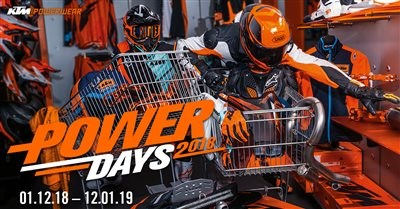 KTM PowerDays 2018/19