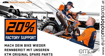 KTM Aktion Factory Support 