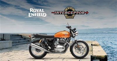 Royal Enfield Interceptor am 08.12. bei uns