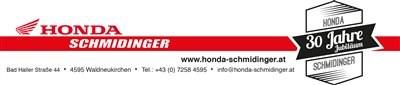 Winterwerkstattaktion bei Honda Schmidinger - 20% Rabatt und Kolbenwechsel um 299,-