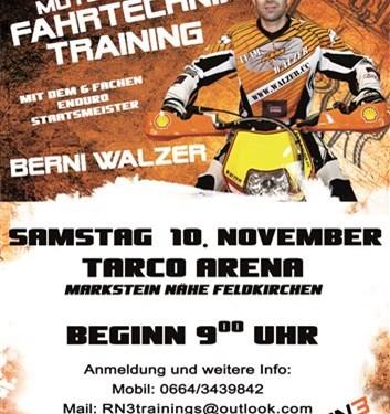 """RN3 """"Kids MX Fahrtechnik-Training"""" mit Berni Walzer"""