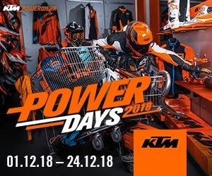Stefan Kümpel Motorradhandel-News: KTM Power Days 01.-24.12.