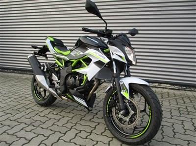 Die neuen 125'er Modelle von Kawasaki 2019