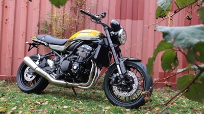 Die neue Z900 RS Candytone Yellow-Green