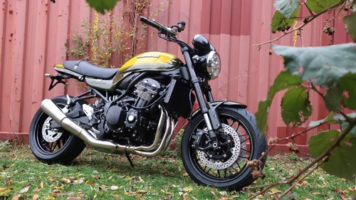 Geenen News Die neue Z900 RS Candytone Yellow-Green