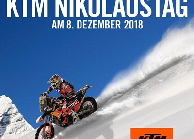 NEWS Nikolaustag am 08.12.18 und KTM Powerdays