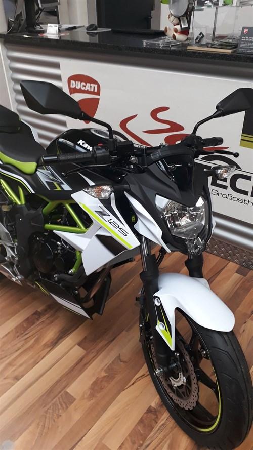 Kawasaki Z125 2019!