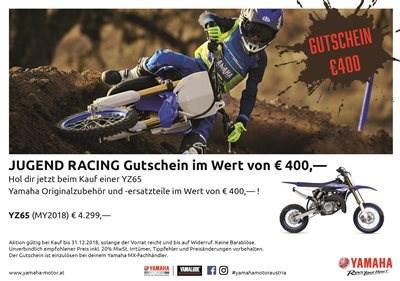 Yamaha YZ65 €400.- Racing Bonus