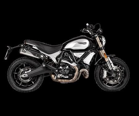 Ducati Scrambler 1100: Edles von Akrapovic erhältlich!