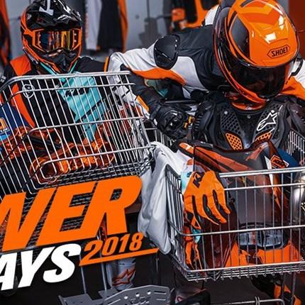 KTM POWERDAYS 2018  Es ist wieder soweit, die KTM PowerDays stehen vor der Tür. Im Zeitraum vom 1.12 – 24.12.18 warte... Weiter >>
