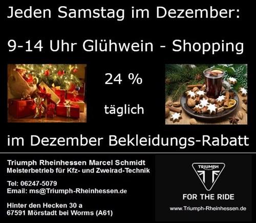Glühwein-Shopping