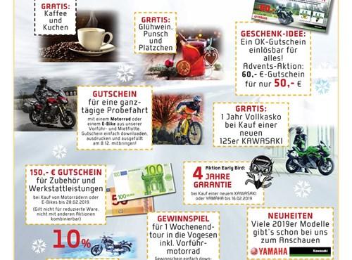 Biker-Advent @ OK Motorräder