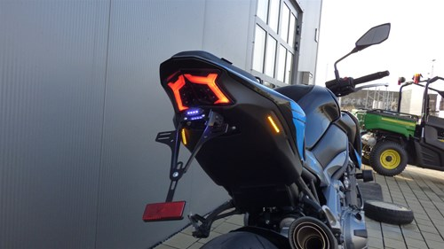 Kawasaki Z900 mit BPR-Heckumbau