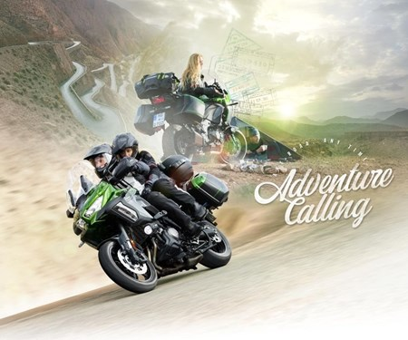 Das Abenteuer ruft die neue Kawasaki Versys 1000